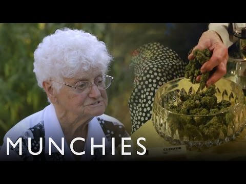 Weed Grandma Shows Us How To 420 Braise It video