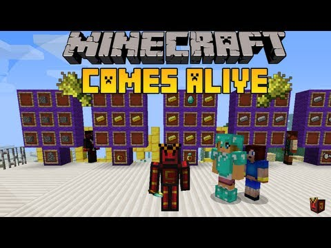 Minecraft 1.5.1 - Review e instalación de Minecraft Comes Alive [HD]