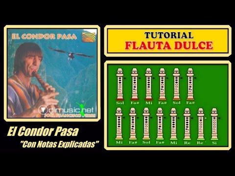 El Cóndor Pasa en Flauta