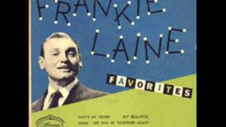 Watch Frankie Laine Shine video