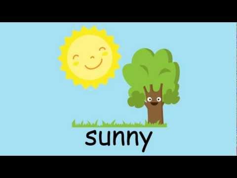 English Vocabulary - Weather