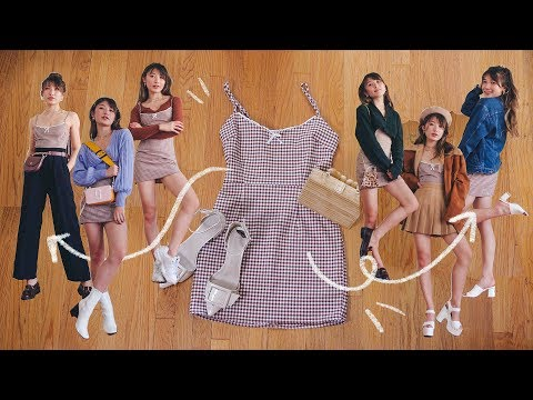 Play this video 10 WAYS TO reWEAR A DRESS