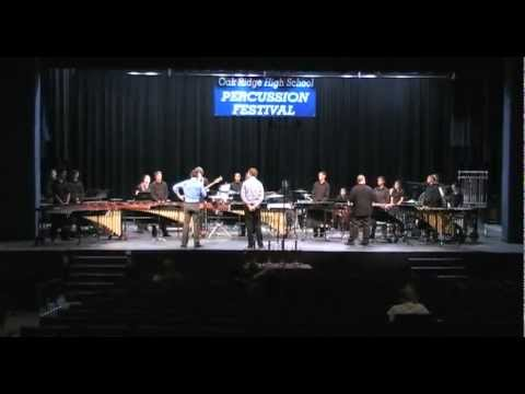 """Joaquin On Sunshine"" by Jim Casella - Klein Forest High School Percussion"
