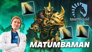 MATUMBAMAN Wraith King | Dota 2 Pro Gameplay