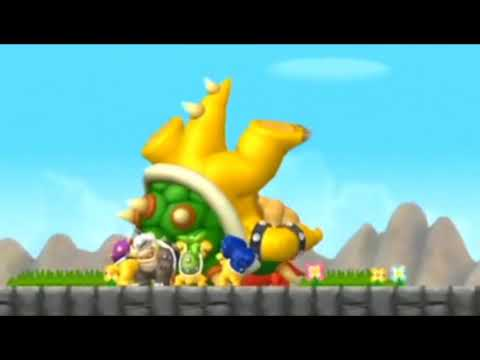 Final Boss + Ending : New Super Mario Bros Wii