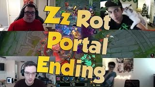 League of Legends Funny Stream Moments #34 - ZZ'ROT PORTAL ENDING!