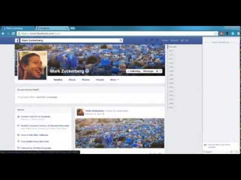 Mark Zuckerberg's Facebook Id Hacked. Changing cover pic [Hacking Event Recorded]