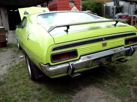 1972 XA Ford Falcon Coupe GT Replica - YouTube