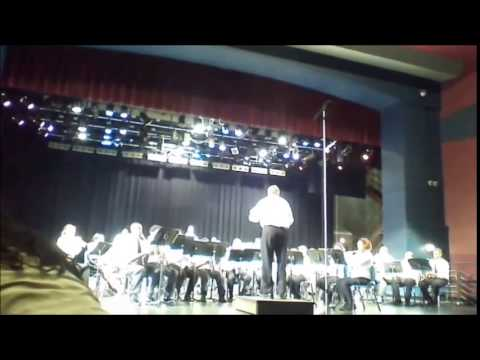 University Academy Band MO State Music Festival 2014 Chrysalis by Michael Story