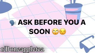 r/Boneappletea | DON'T A SOON THINGS