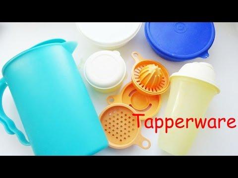 Тupperware Моя коллекция посуды