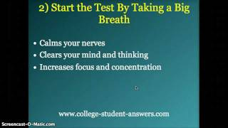 7 Effective Test Taking Tips