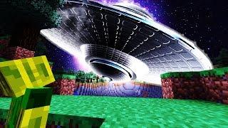 EINBRUCH ins ALIEN UFO?! - Minecraft 1.13 [Deutsch/HD]
