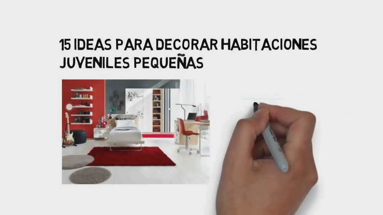 15 ideas para decorar habitaciones juveniles peque as for Decoraciones para habitaciones juveniles