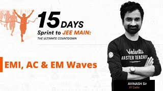 Electromagnetic Induction & Waves | Alternating Current JEE Main Problems | EMI IIT JEE 2019 Physics