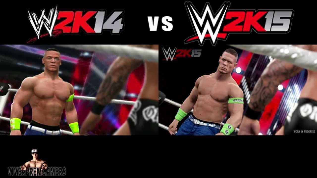 Wwe 2k15 Randy Orton vs John Cena John Cena vs Randy Orton