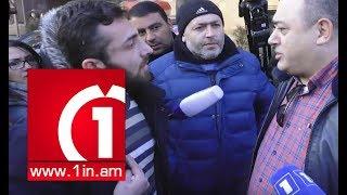 «Տուշոնկայի փաստաբան»․ ընդհարում՝ ցուցարարների և Մանվել Գրիգորյանի պաշտպանի միջև