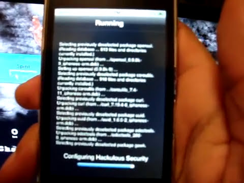 Iphone 3GS Jailbreak Spirit***
