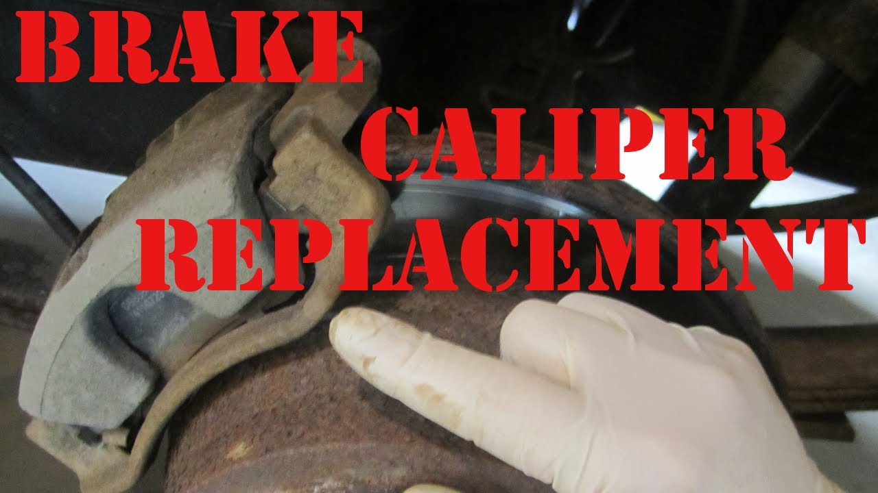 How To Replace 2000 Chevy Blazer Brake Caliper Gmc Jimmy
