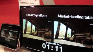 OMAP5 demonstrations at Computex 2012
