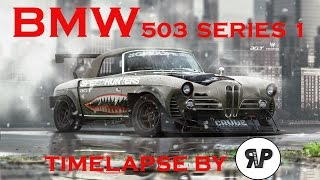 1957 BMW 503 Series1 Timelapse by RP.DESIGN