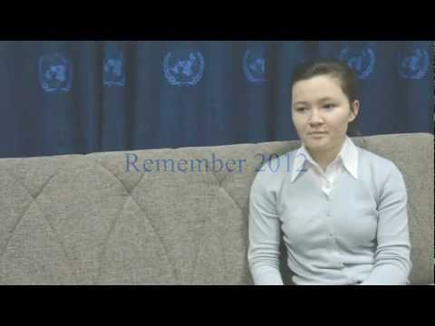 REMEMBER 2012. UN IN UZBEKISTAN -- HIGHLIGHT THREE