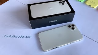 Unboxing: iPhone 11 Pro Max (Silver)