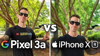 Pixel 3a vs iPhone XR: Camera Test Comparison! (4K)