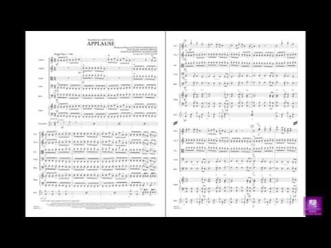 Applause arranged by Larry Moore
