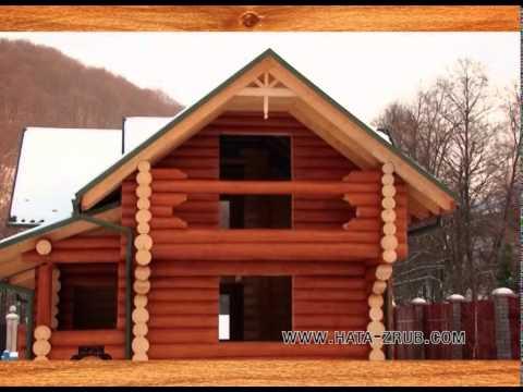 Деревянный дом от ПП «Хата-Зруб»