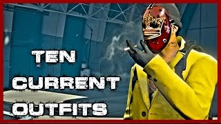 GTA 5 Online My Ten Current Outfits | Episode 6
