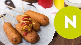 20 perces sajtos corn dog recept