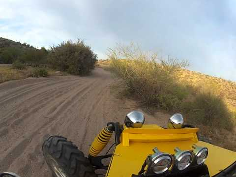 Joyner Sand Spider 650 Turbo Run. Tie Rod Breaks.