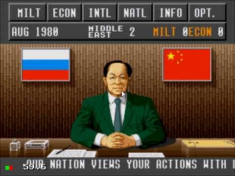 The Third World War - ALL OUT NUCLEAR WAR - Sega CD Gameplay