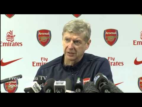 Arsene Wenger pre Arsenal vs Coventry FA Cup