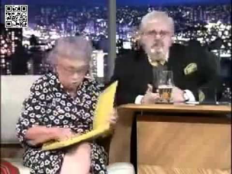 Velhinha super sincera acaba com Jô Soares