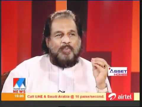 Yesudas About Vizhinjam Project in Manorama News