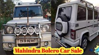Second hand Mahindra Bolero Slx Model Car Sale in Tamilnadu
