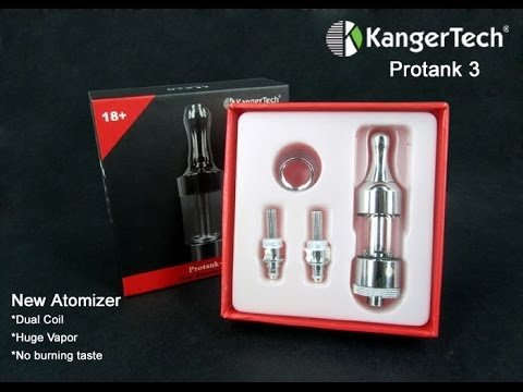 Kangertech Protank Review - Electronic Cigarette Bottom Coil Tank