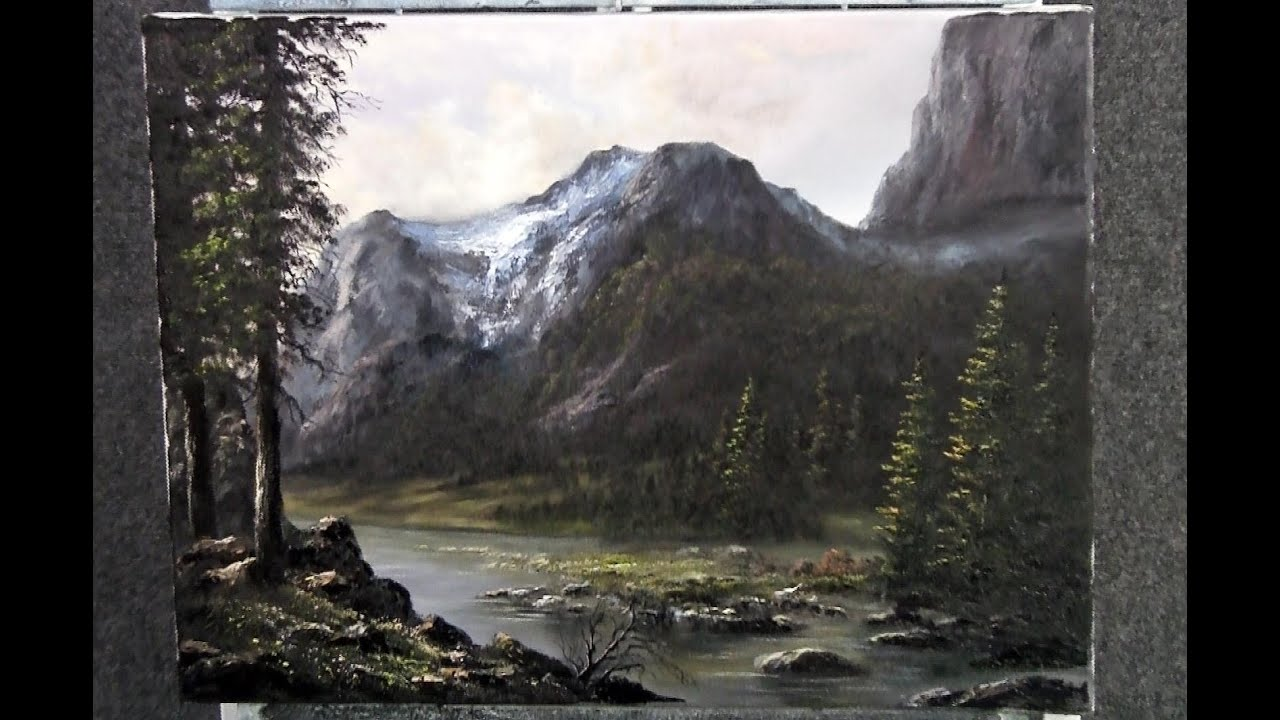 Paint With Kevin Hill A Rugged Mountain Youtube