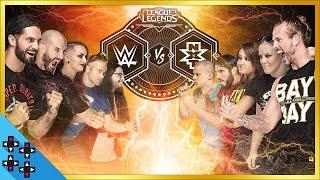 LEAGUE OF LEGENDS - Team WWE vs. Team NXT SHOWMATCH