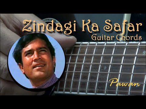 "Tribute to ""Kaka"" Rajesh Khanna - Guitar Chords for 4 ""Zindagi"" Songs"