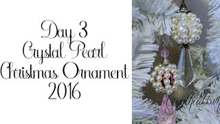 Day 3 of 10 Days of Christmas Ornaments with Cynthialoowho 2016!