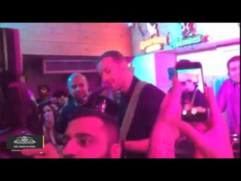 Coldplay's Lead Vocalist Chris Martin is in India