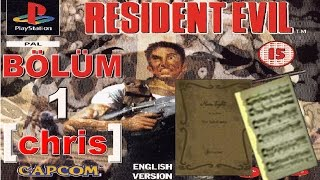 Resident Evil 1 Bölüm 1 Moonlight Sonata [Chris]