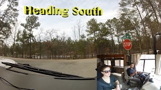 Leaving North Carolina For South Carolina ~ Curbed The RV For The First Time