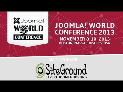 Joomla! World Conference 2013 - Sunday Evening Keynote :: The Joomla! World Conference returns for the second consecutive year, bringing together the worldwide Joomla! Community for three days of learning, connecting, and sharing.  Join us November 8-10 at Harvard University as we bring the brightest Joomla! minds together to share their experiences, connect with others in the community, and learn more about Joomla! and the community.  http://conference.joomla.org  Bringing Back the Mullet! David Hurley  Come to this entertaining and motivating session discussing the latest and greatest in Joomla development. Learn how to put this amazing CMS to use for your business success. Discover the power of a community that perfectly blends business and pleasure!  http://conference.joomla.org/index.php?option=com_conference&view=session&id=27  David's Bio: http://conference.joomla.org/index.php?option=com_conference&view=speaker&id=83