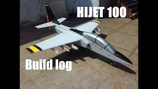RC plane HIJET 100 -  Build log