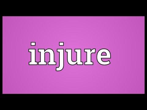 Header of injure