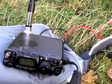 SQ7MZF QRP PORTABLE with ZB2FX ft-817